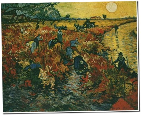 only painting van gogh sold -- the red vineyard